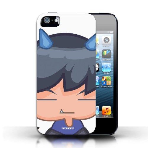 Coque de Stuff4 / Coque pour Apple iPhone 5/5S / Patit diable assistant Design / Visages de monstres Collection