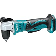 Makita XAD02Z 18V LXT Lithium-Ion Cordless 3/8-Inch Angle Drill, Tool Only