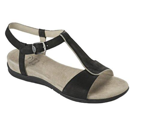 Nashira Cushion Memory Scholl Black Sandals nBAwvxxSq7