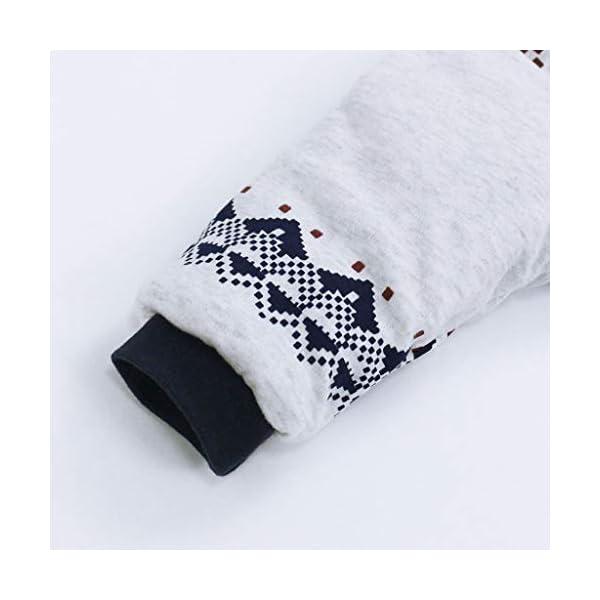 Bambino Ragazze Ragazzi pagliaccetto Neonato addensare Snowsuit Autunno inverno infantile tute attrezzatura 6 mesi Vine 4