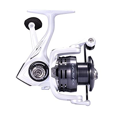 Cadence Fishing CS4 Spinning Reel | Lightweight Carbon Composite Frame & Side Plate | 7 + 1 Corrosion Resistant Bearings | Available in Sizes 1000, 2000, 3000, 4000