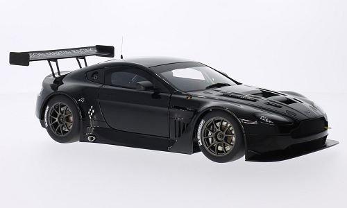 Aston Martin Vantage V12 GT3, black, 2013, Model Car, Ready-made, AutoArt 1:18
