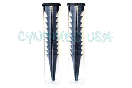 NEW DISPOSABLE OTOSCOPE SPECULA 20 WITH TUBE ! 2.5MM & 3.5MM