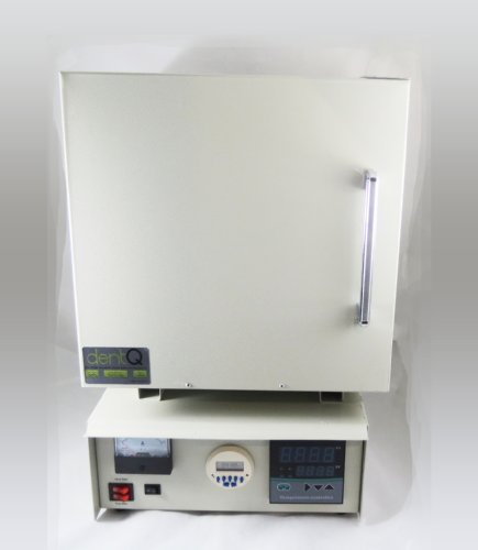 Laboratory Digital Electric High Temperature Dental Furnace Ceramic Fiber Lab Oven 110V dentQ