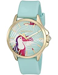 Juicy Couture Womens Jetsetter Quartz Green Casual Watch (Model: 1901426)