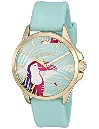 Juicy Couture Women's 1901426 Jetsetter Analog Display Quartz Green Watch
