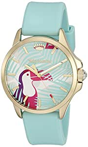 Juicy Couture Women's 'Jetsetter' Quartz Green Casual Watch (Model: 1901426)