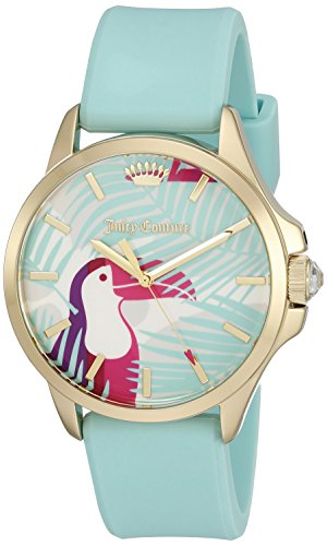 - Juicy Couture Women's 'Jetsetter' Quartz Green Casual Watch (Model: 1901426)
