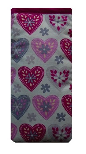 Purple and Pink Hearts Print Print Apple iPod Touch (6th Generation) Sock (Sock Pink Ipod)