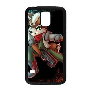Samsung Galaxy S5 Cell Phone Case Black Super Smash Bros Fox McCloud BNY_6739378