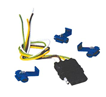 Amazon Com 4 Wire Flat Vehicle End Wiring Connector Automotive