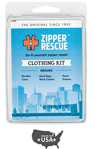 Zipper Rescue Zipper Repair Kits - The Original Zipper Repair Kit, Made in America Since 1993 (Clothing)
