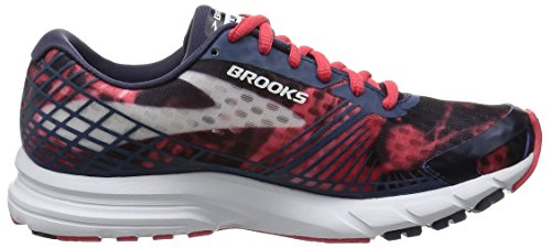 Brooks Womens Launch 3 Peacoat / Teaberry / White