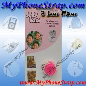 3 Image Mirage Special Effect Lens for Digital Camera, Cell Phone Camera By Jelly Lens (Jelly Camera Lens)