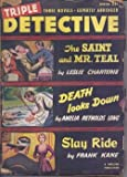 img - for TRIPLE DETECTIVE: Winter 1951 (