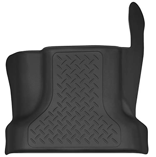 Husky Liners Fits 2015-19 Ford F-150 SuperCrew, 2017-19 Ford F-250/F-350 Crew Cab X-act Contour Center Hump Floor Mat