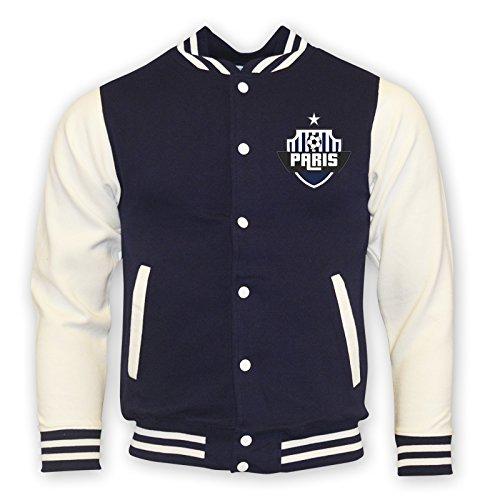 Psg College Baseball Jacket (navy) B0787YWQRSNavy XXL (50-52\