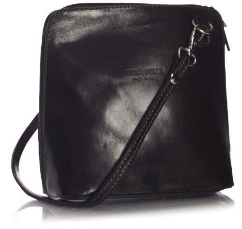 Big Handbag Shop, Borsa a tracolla donna One Marrone
