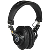 The SMH-1000 Closed-Back Professional Monitor Headphones from Senal feature a classic closed-back, over-the-ear, collapsible design. With features like interchangeable cables, a refined frequency response, wire guides, superior comfort, and d...