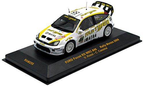 Ixo ram255 – Fahrzeug Miniatur – Modell Maßstab – – – Ford Focus WRC – Rallye Monza Winner 06 – Maßstab 1/43 226d73