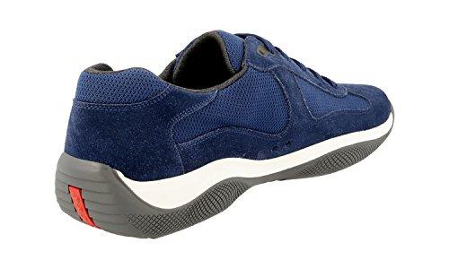 ... Prada Menns 4e2043 53p F0y8e Skinn Sneaker ...