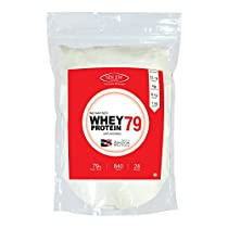 Sinew Nutrition Instantised Whey Protein Concentrate 80% Raw & Unflavoured Supplement Powder