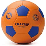 """Chastep 8"""" Foam Soccer Ball Perfect for Kids or Beginner Play and Excercise Soft Kick & Safe,Orange/Blue"""