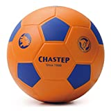 Chastep 8'' Integral Skin Foam Soccer Ball Perfect for Kids or Beginner Play and Excercise Durable for Outdoor Play - Orange(2nd Generation)