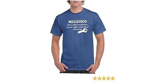 Parent: Camisetas divertidas mecanico, para evitar problemas no me digas como hacer mi trabajo - para hombre camiseta: Amazon.es: Ropa y accesorios