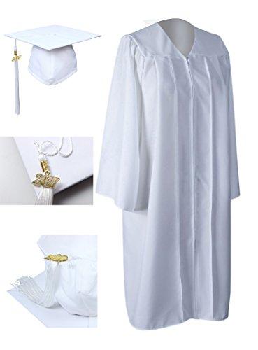 graduation cap white - 7