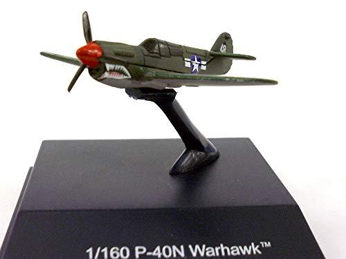 P-40 Warhawk World War II Fighter 1/160 Scale Diecast Metal Model