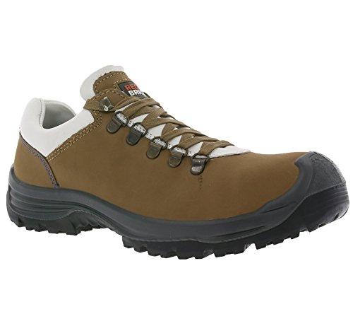 Redbrick Glider Schuhe S3 Echtleder Sicherheitsschuhe Arbeitsschuhe