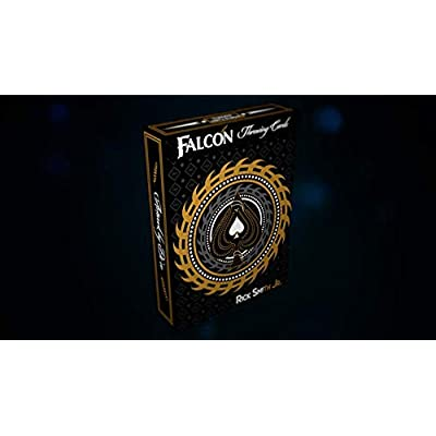MJM Falcon Throwing Cards by Rick Smith Jr. and De'vo: Toys & Games