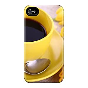 Excellent Design Another Cup Of Coffee Case Cover For Iphone 4/4s