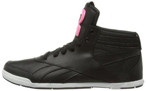 black Sneaker Mid Donna neon Reebok Nero V51559 Pink beat Roxity schwarz white q4xawf