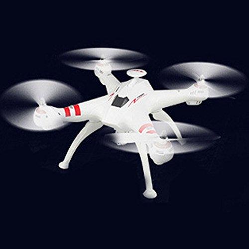 Hanbaili Mini Pocket RC Quadcopter Drone, (Blanco) X15 2.4GHz ...