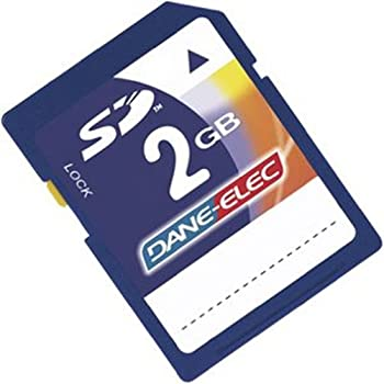 Dane Electric 2GB SD Memory Card