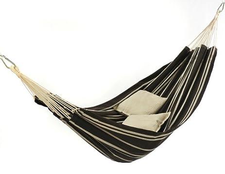 barbados hammock brazilian style hammock by byer of maine   mocha amazon     barbados hammock brazilian style hammock by byer of      rh   amazon