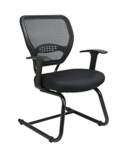 Professional AirGrid Back Visitors Chair with Mesh Seat by Spider Office Chairs LLC