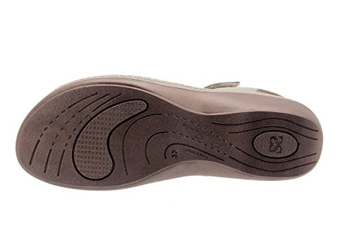 À Amples Semelle Sandales Femme Amovible Confortables En Cuero Confort Cuir 1807 Chaussure Piesanto qC0Sff