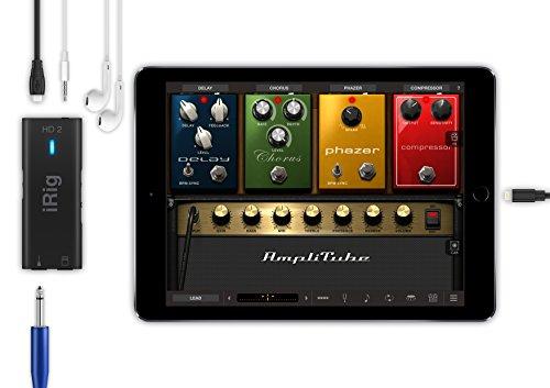 ik multimedia 1 irig hd 2 digital guitar interface for iphone ipad and mac ip irig hd2 in. Black Bedroom Furniture Sets. Home Design Ideas