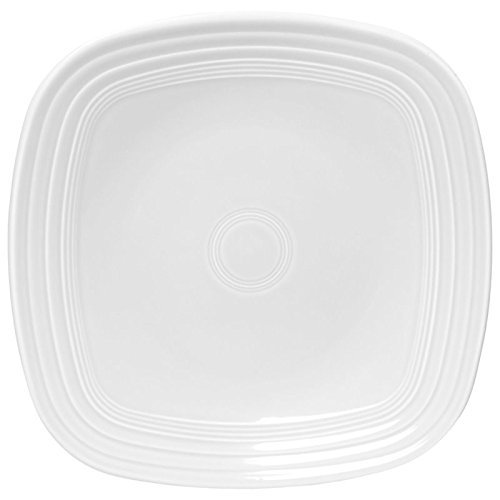 Homer Laughlin 100-920 Square Luncheon Plate White