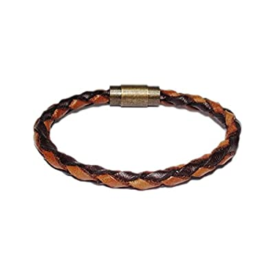 AUTHENTIC HANDMADE Leather Bracelet, Men Women Wristbands Braided Bangle Craft Multi [SKU001890]