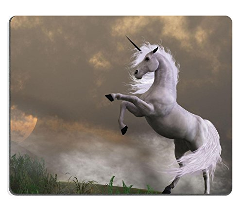 luxlady-gaming-mousepad-rare-earth-a-unicorn-stag-asserts-its-power-on-a-hill-shrouded-in-clouds-ima