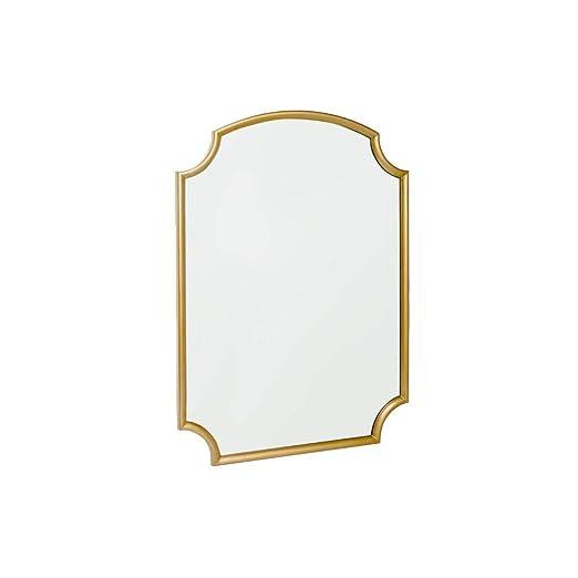 KONGZIH Espejo De Cristal De La Vanidad del Maquillaje De Mirada ...