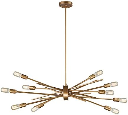 ELK Lighting 66972 10 Chandelier, One Size, Gold