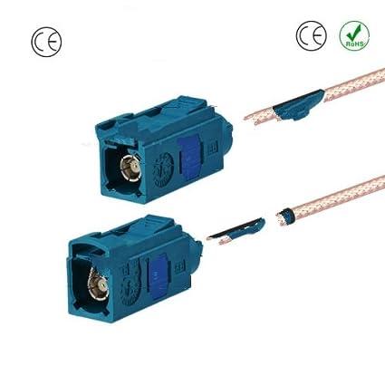 Radio de Coche GPS Cable alargador de Antena Fakra Z 20 ft para ...