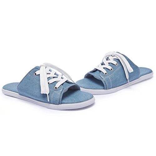 Solshine Solshine Femme Bleu Solshine Mules Mules Bleu Bleu Femme Mules Femme Solshine wEpEZO