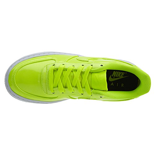 Nike AIR Force 1 LV8 UV (GS) Boys Basketball-Shoes AO2286-700_4Y - Volt/Volt-White-White by Nike (Image #6)