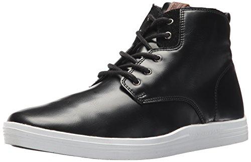 Ben Sherman Men's Vance Boot Sneaker, Black, 10 M US (Ben Sherman Casual Shoes)